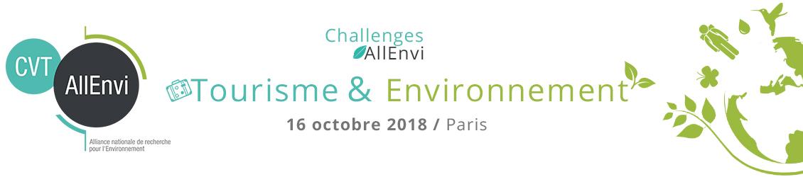 Journée Challenges AllEnvi – Tourisme & Environnement