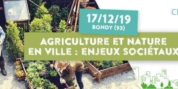 Journée Challenges AllEnvi - Agriculture et nature en ville : enjeux sociétaux
